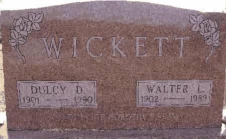 WICKETT, WALTER L. - Warren County, Iowa | WALTER L. WICKETT
