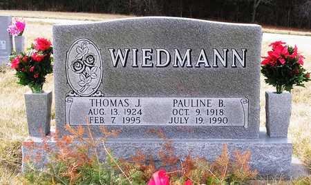 WIEDMANN, PAULINE B. - Warren County, Iowa   PAULINE B. WIEDMANN