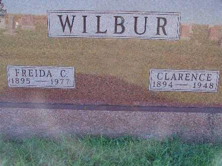 WILBUR, FREIDA C. - Warren County, Iowa | FREIDA C. WILBUR