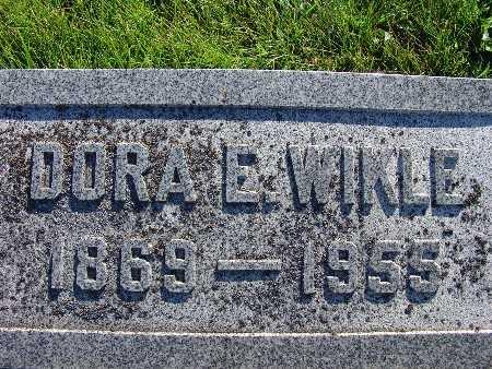 WIKLE, DORA E. - Warren County, Iowa | DORA E. WIKLE