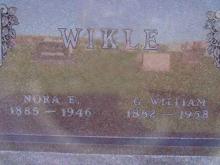 WIKLE, G. WILLIAM - Warren County, Iowa | G. WILLIAM WIKLE
