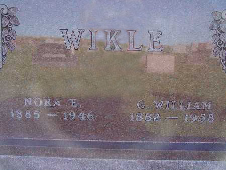 WIKLE, NORA E. - Warren County, Iowa | NORA E. WIKLE