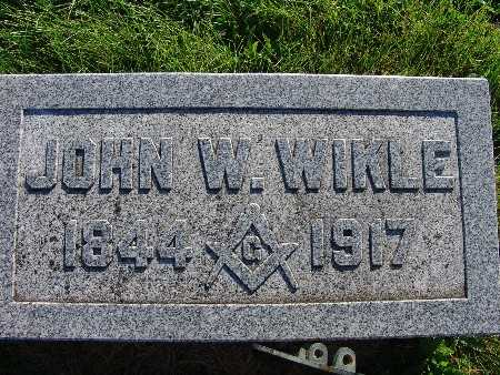 WIKLE, JOHN W. - Warren County, Iowa | JOHN W. WIKLE
