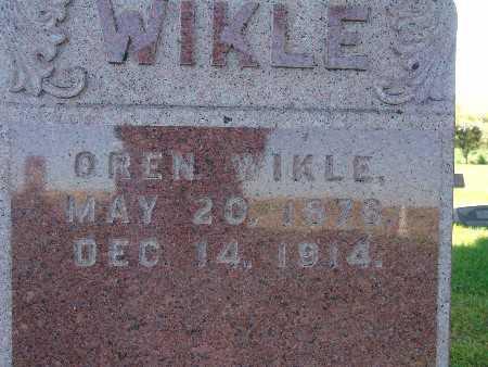 WIKLE, OREN - Warren County, Iowa | OREN WIKLE