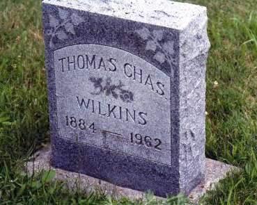 WILKINS, THOMAS CHARLES - Warren County, Iowa   THOMAS CHARLES WILKINS