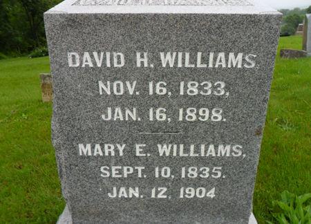 WILLIAMS, DAVID H. - Warren County, Iowa | DAVID H. WILLIAMS