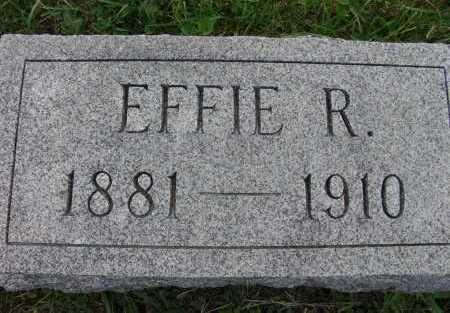 WILLIAMS, EFFIE R - Warren County, Iowa | EFFIE R WILLIAMS