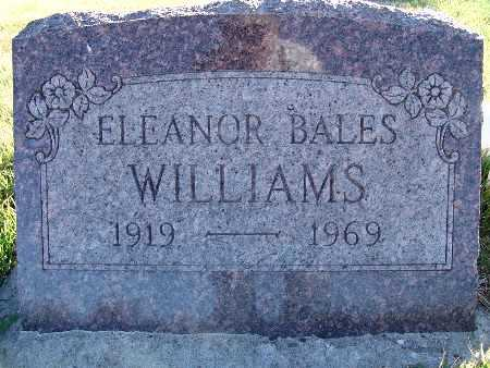 WILLIAMS, ELEANOR - Warren County, Iowa | ELEANOR WILLIAMS