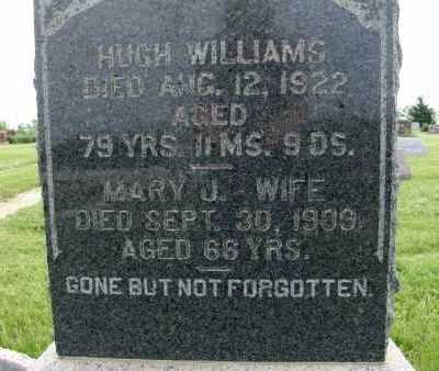 WILLIAMS, HUGH - Warren County, Iowa | HUGH WILLIAMS
