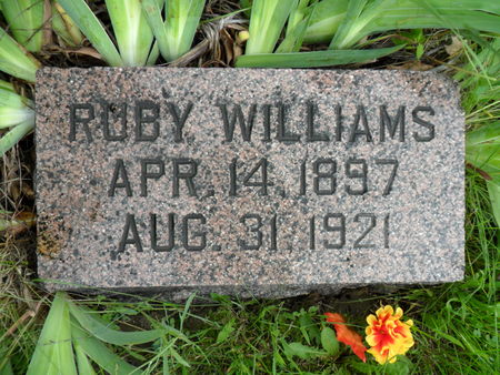 WILLIAMS, RUBY - Warren County, Iowa | RUBY WILLIAMS