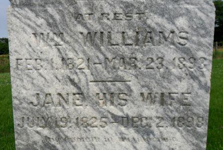 WILLIAMS, WILLIAM - Warren County, Iowa | WILLIAM WILLIAMS