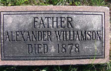 WILLIAMSON, ALEXANDER - Warren County, Iowa | ALEXANDER WILLIAMSON