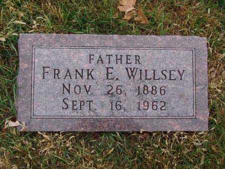 WILLSEY, FRANK E. - Warren County, Iowa   FRANK E. WILLSEY