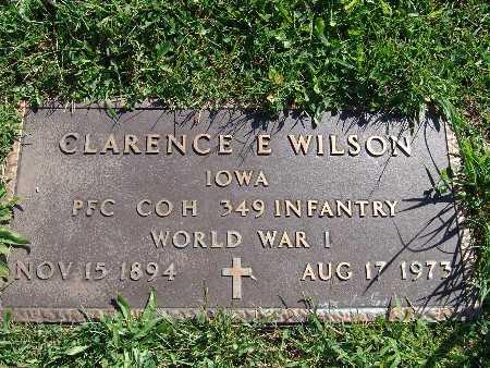 WILSON, CLARENCE E - Warren County, Iowa | CLARENCE E WILSON