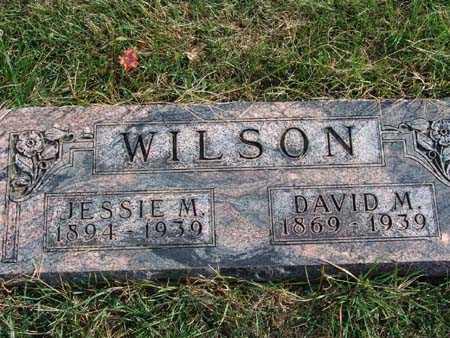 WILSON, DAVID M. - Warren County, Iowa   DAVID M. WILSON