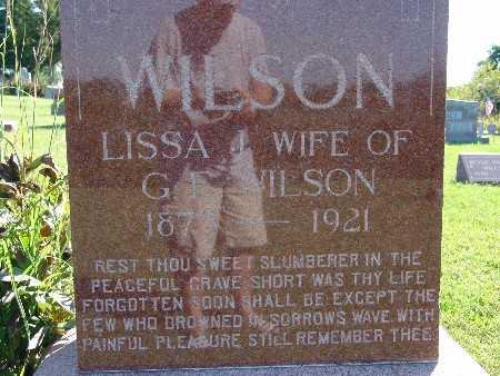 WILSON, LISSA J - Warren County, Iowa | LISSA J WILSON