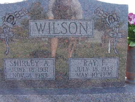 WILSON, RAY F. - Warren County, Iowa   RAY F. WILSON