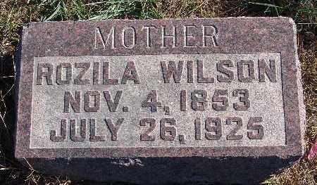 WILSON, ROZILA - Warren County, Iowa | ROZILA WILSON