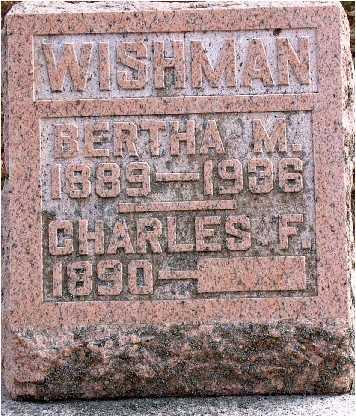 WISHMAN, BERTHA M. - Warren County, Iowa | BERTHA M. WISHMAN