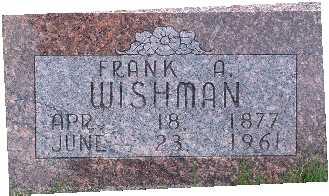 WISHMAN, FRANCIS / FRANK - Warren County, Iowa | FRANCIS / FRANK WISHMAN