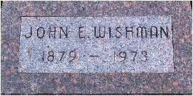 WISHMAN, JOHN E. - Warren County, Iowa | JOHN E. WISHMAN