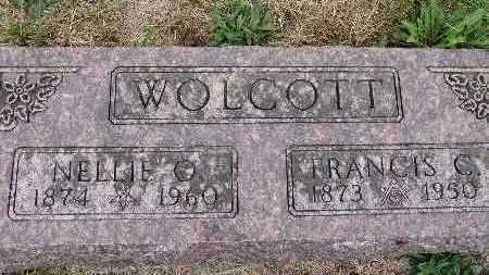 WOLCOTT, NELLIE O. - Warren County, Iowa | NELLIE O. WOLCOTT