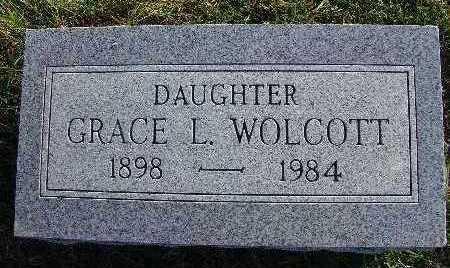 WOLCOTT, GRACE L. - Warren County, Iowa   GRACE L. WOLCOTT