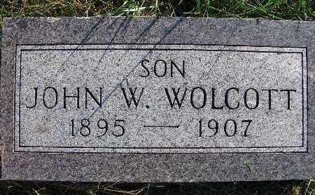 WOLCOTT, JOHN W. - Warren County, Iowa   JOHN W. WOLCOTT