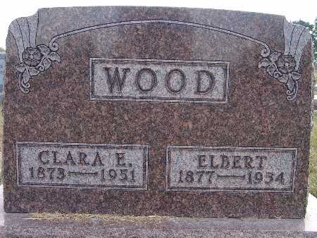 SILCOTT WOOD, CLARA E. - Warren County, Iowa | CLARA E. SILCOTT WOOD