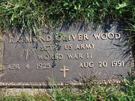 WOOD, RAYMOND OLIVER - Warren County, Iowa | RAYMOND OLIVER WOOD