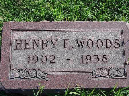 WOODS, HENRY E - Warren County, Iowa | HENRY E WOODS