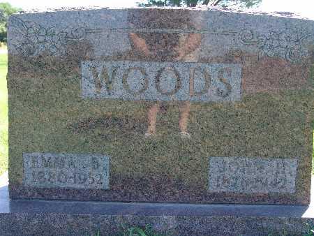 WOODS, EMMA B - Warren County, Iowa | EMMA B WOODS