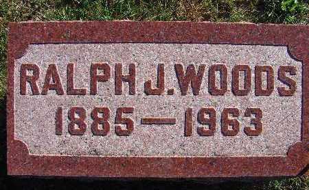 WOODS, RALPH J. - Warren County, Iowa   RALPH J. WOODS