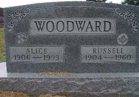 WOODWARD, ALICE - Warren County, Iowa | ALICE WOODWARD