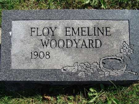 WOODYARD, FLOY EMELINE - Warren County, Iowa | FLOY EMELINE WOODYARD