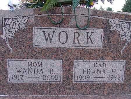 WORK, FRANK H. - Warren County, Iowa | FRANK H. WORK