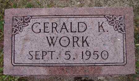 WORK, GERALD K. - Warren County, Iowa | GERALD K. WORK