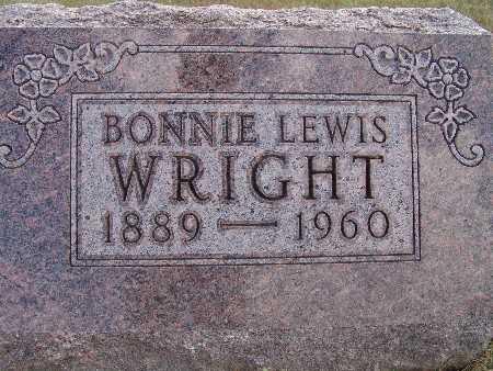 WRIGHT, BONNIE LEWIS - Warren County, Iowa | BONNIE LEWIS WRIGHT