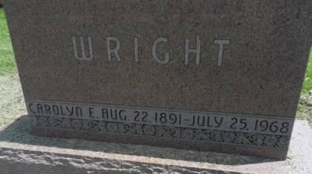WRIGHT, CAROLYN E - Warren County, Iowa | CAROLYN E WRIGHT