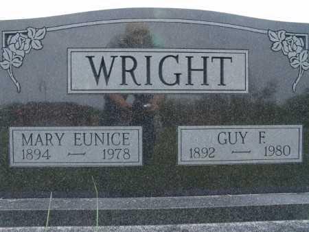 WRIGHT, MARY EUNICE - Warren County, Iowa | MARY EUNICE WRIGHT