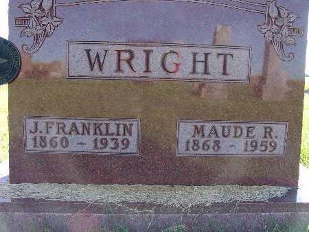 WRIGHT, J. FRANKLIN - Warren County, Iowa | J. FRANKLIN WRIGHT