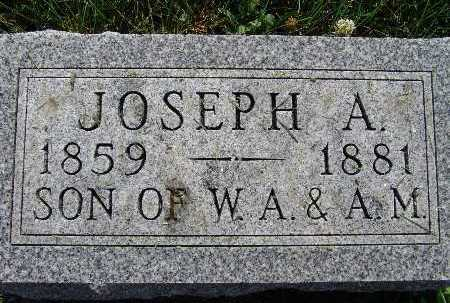 WRIGHT, JOSEPH A. - Warren County, Iowa | JOSEPH A. WRIGHT