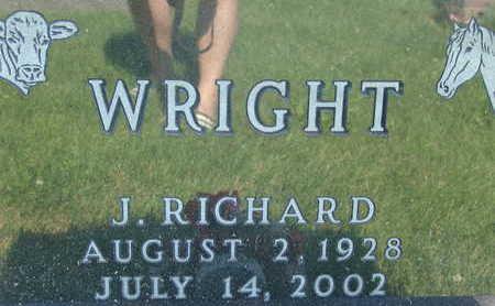 WRIGHT, J. RICHARD - Warren County, Iowa | J. RICHARD WRIGHT