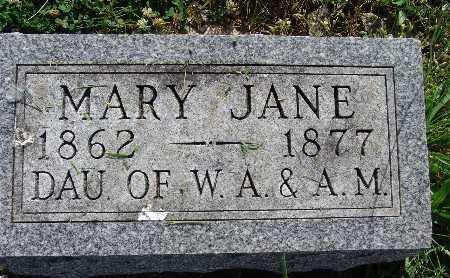 WRIGHT, MARY JANE - Warren County, Iowa | MARY JANE WRIGHT