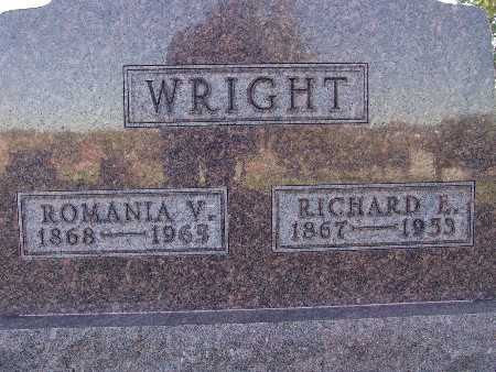 WRIGHT, RICHARD E. - Warren County, Iowa | RICHARD E. WRIGHT