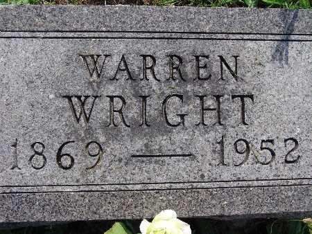 WRIGHT, WARREN - Warren County, Iowa | WARREN WRIGHT