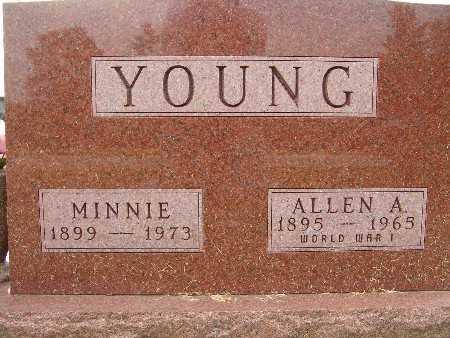 YOUNG, ALLEN A. - Warren County, Iowa | ALLEN A. YOUNG