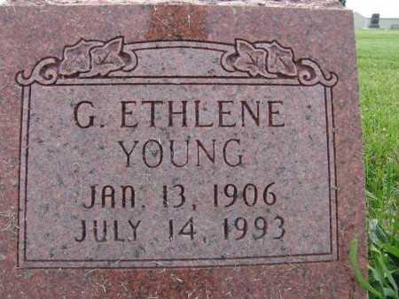 YOUNG, G. ETHLENE - Warren County, Iowa | G. ETHLENE YOUNG