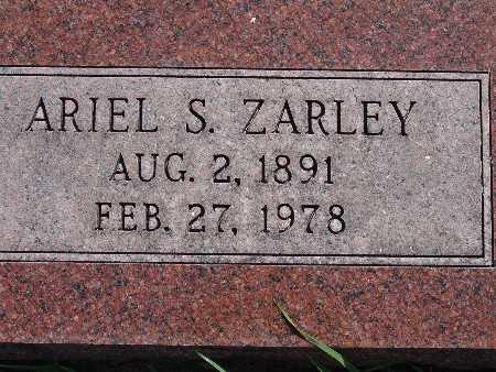 ZARLEY, ARIEL S - Warren County, Iowa | ARIEL S ZARLEY