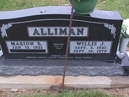 ALLIMAN, MARION - Washington County, Iowa | MARION ALLIMAN